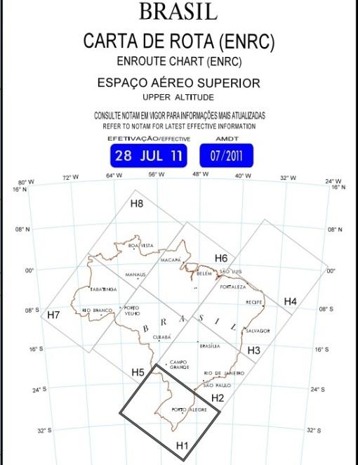 ERC Brasil - Espaço Aéreo Superior - Brazil's High Air Space