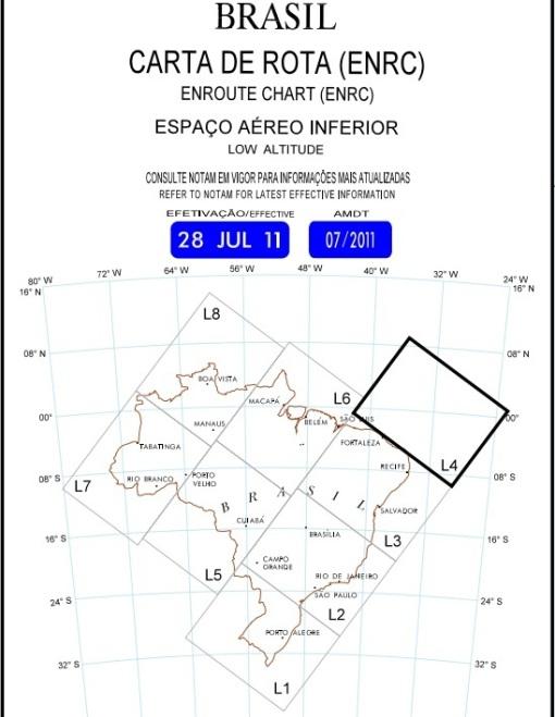 ERC Brasil - Espaço Aéreo Inferior - Brazil's Lower Air Space