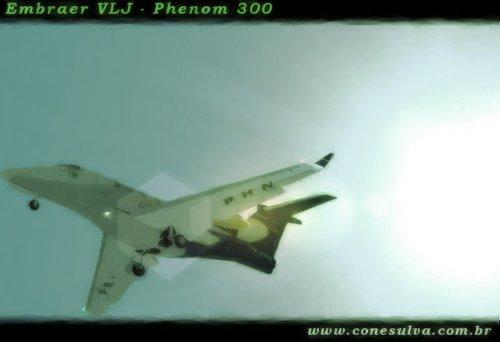 Embraer Phenom 300 (FS2004)