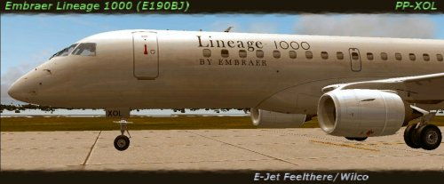 Embraer Lineage 1000 PP-XOL