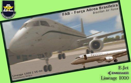 Embraer E-Jet Lineage 1000 - FAB - Força Aérea Brasileira