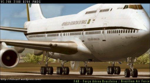 PMDG B744 - FAB VC-74H a