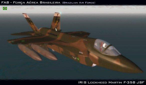 FAB – Lockheed Martin F-35B JSF | FS Brasil