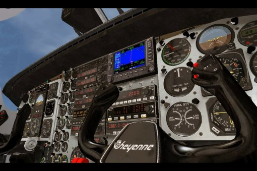 Digital Aviation PA31T Cheyenne - Moving GPS Map