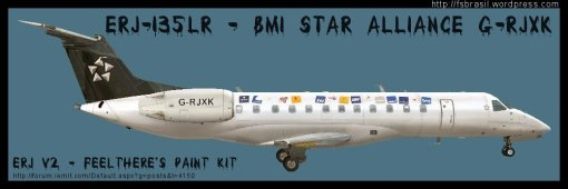 ERJ v2 135 Star Alliance BMI