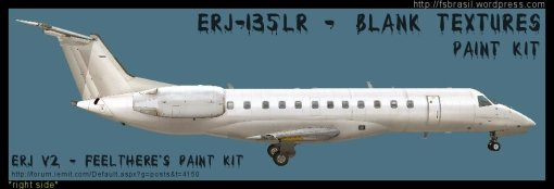 ERJ v2 135LR Blank Right Side