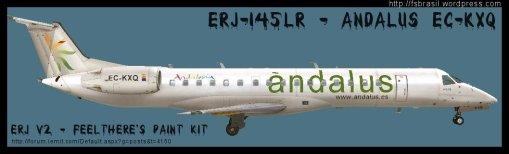ERJ v2 145 Andalus ECKXQ