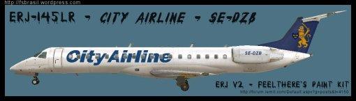 ERJ v2 145 City Airline SE-DZB