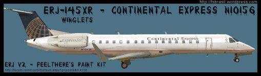 ERJ v2 145 Continental N10156