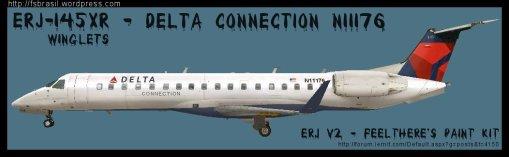 ERJ v2 145 Delta N11176