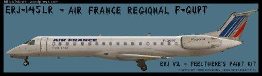 ERJ v2 145 LR Air France Regional F-GUPT