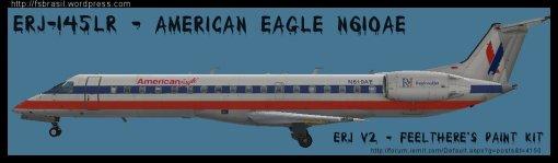 ERJ v2 145 LR American N610AE