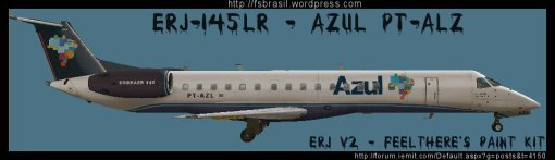 ERJ v2 145 LR Azul PT-AZL