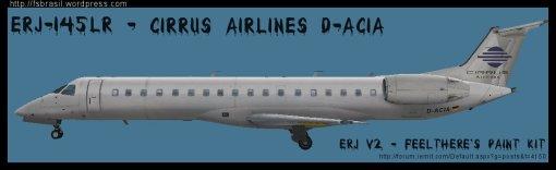 ERJ v2 145 LR Cirrus D-ACIA