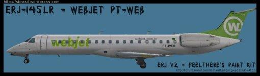 ERJ v2 145 LR WebJet PT-WEB