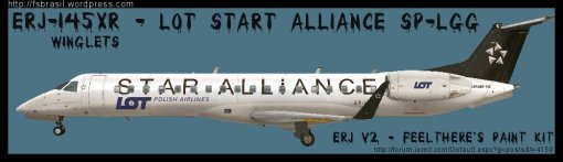 ERJ v2 145 Star Alliance LOT
