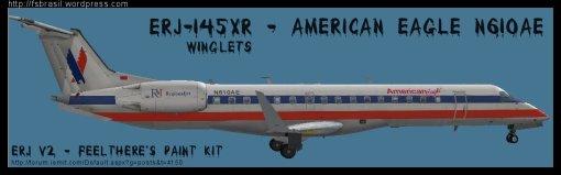 ERJ v2 145 XR American N610AE