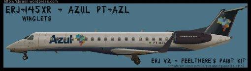 ERJ v2 145 XR Azul PT-AZL