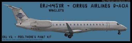 ERJ v2 145 XR Cirrus D-ACIA