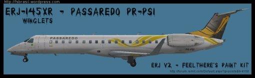 ERJ v2 145 XR Passaredo PR-PSI
