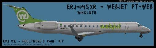 ERJ v2 145 XR WebJet PT-WEB