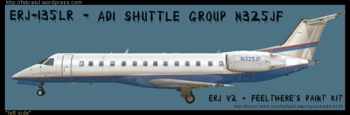 ERJ v2 ADI Shuttle Group N325JF