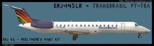 ERJ v2 Transbrasil PT-TBA
