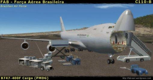 FAB PMDG B744F C110B