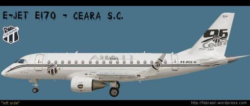 E-Jet Futebol - Ceara E170