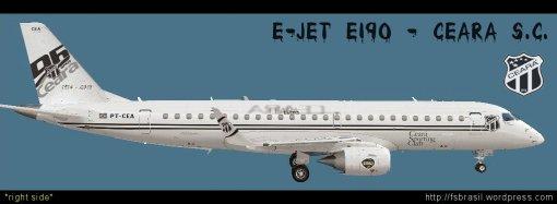 E-Jet Futebol - Ceara E190