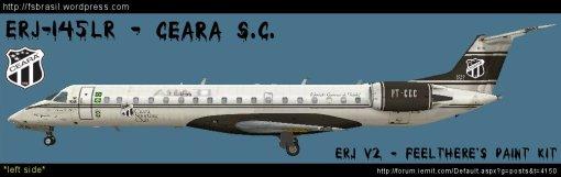 ERJ v2 Futebol - Ceara ERJ-145LR