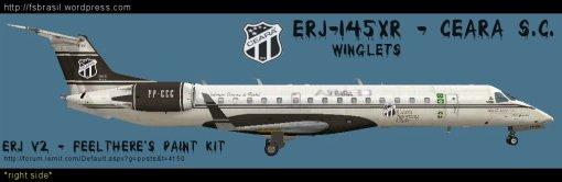 ERJ v2 Futebol - Ceara ERJ-145XR