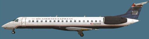 ERJ145LR v2 US Airways N239SK