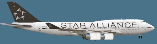 B744 PMDG Star Alliance