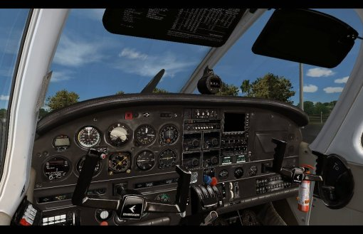 Sertanejo EMB721 PT-RMC Virtual Cockpit (VC)