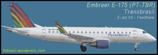 E175 TransBrasil PT-TBR