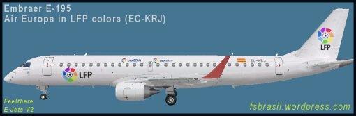 E195 - Air Europa - LFP - EC-KRJ