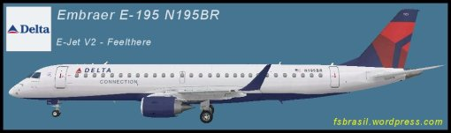 E195 Delta Airlines N195BR