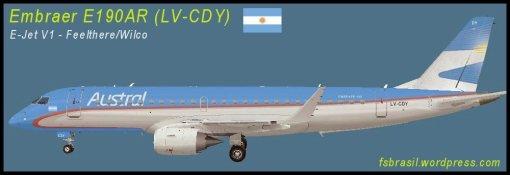 E190 Austral LV-CDY