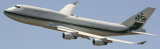 Real Business Jumbo Jet - B744 - Kingdon Holding - Saudi Arabia (HZ-WBT7)
