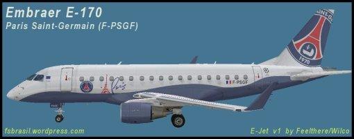 E-170 Paris Saint Germain F-PSGF