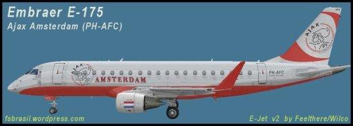E-175 Ajax F.C. PH-AFC