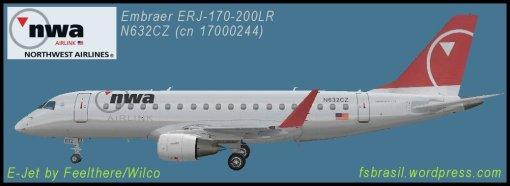 E175 NWA - N632CZ
