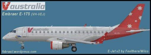 E175 V Australia VH-VEJ