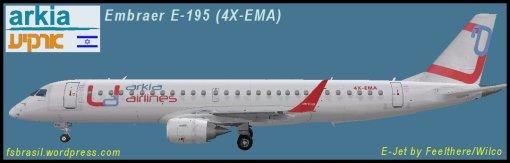E195 Arkia 4X-EMA