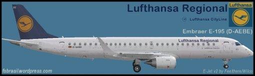 E195 Lufthansa D-AEBE
