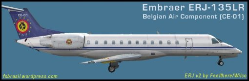ERJ135LR Belgian-Air-Component CE-01 new colors