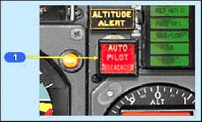 Figure 4 - Autopilot Disengage Light