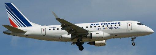 E170 Air France F-HBXA - Real aircraft