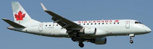E175 Air Canada C-FEKD - Real aircraft